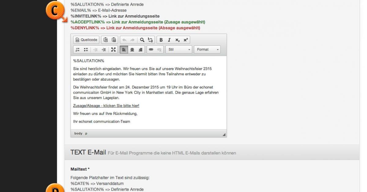 E Mail Bestätigen